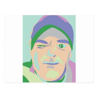 bruto del faccia tarjetas postales