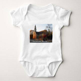 Bruton Parish Church, Williamsburg Baby Bodysuit
