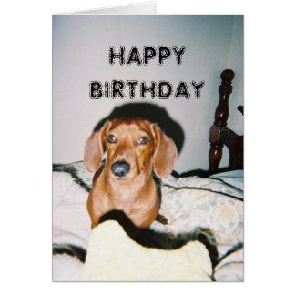 Brutus 3, HAPPY BIRTHDAY Greeting Card
