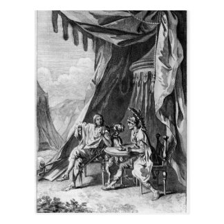 Brutus and Cassius in Brutus's Tent Postcard
