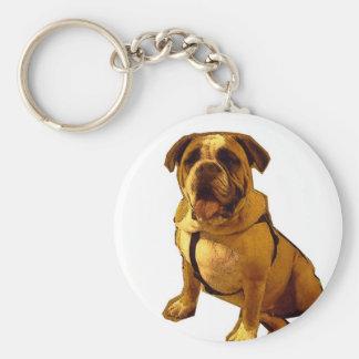 Brutus-Bulldog Keychains