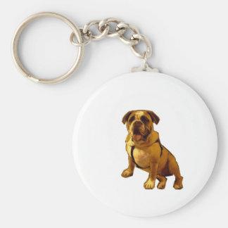 Brutus-Dogo Llavero Redondo Tipo Pin