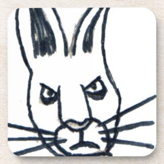 Brutus el conejo que cambió el mundo posavasos