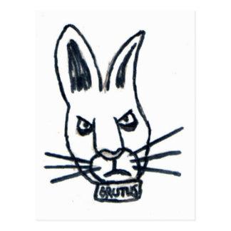 Brutus el conejo que cambió el mundo postal