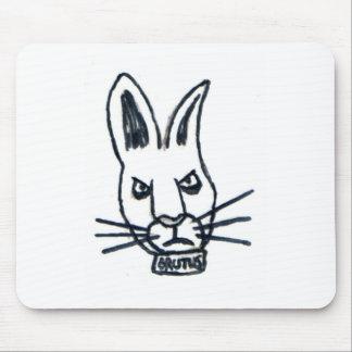 Brutus el conejo que cambió el mundo alfombrilla de raton