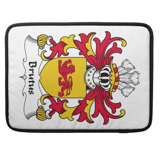 Brutus Family Crest Sleeve For MacBook Pro