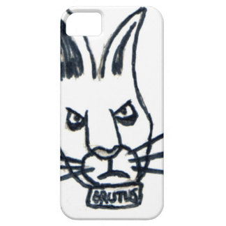 Brutus the Rabbit That Changed the World iPhone SE/5/5s Case