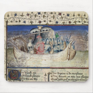 Brutus the Trojan Sets Sail for Britain, from 'The Mouse Pad