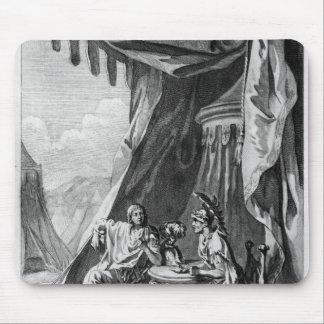 Brutus y Cassius en la tienda del Brutus Alfombrilla De Raton