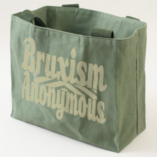 Bruxism Anonymous Utility Bag