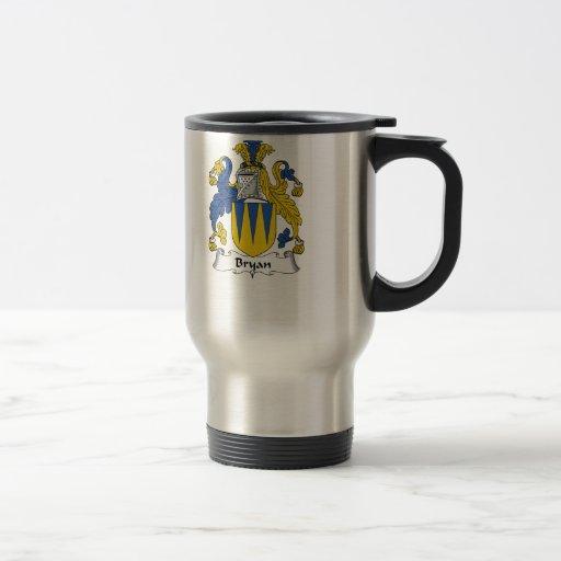 Bryan Family Crest Coffee Mugs