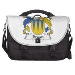 Bryan Family Crest Laptop Bag