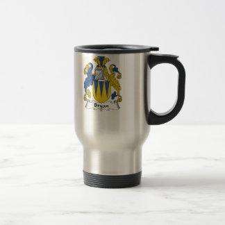 Bryan Family Crest Travel Mug