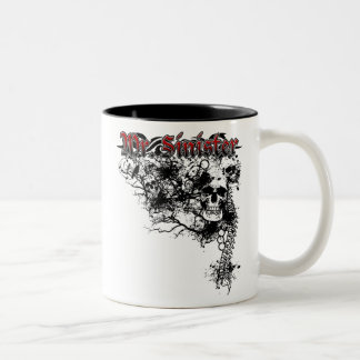 "Bryan ""Mr. Sinister Kemp MMA Fighter Two-Tone Coffee Mug"