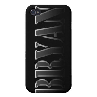 BRYAN Name Branded iPhone Cover Cases For iPhone 4