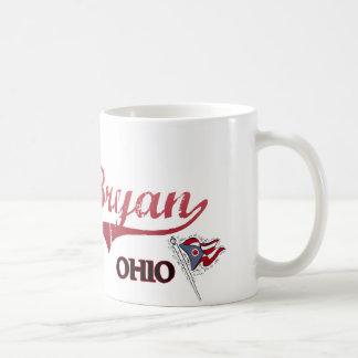 Bryan Ohio City Classic Classic White Coffee Mug
