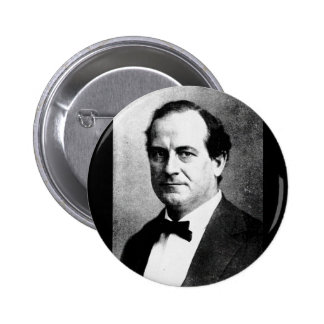 Bryan - William Jennings Political Leader Orator Pinback Button