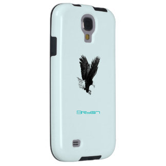 Bryan's Samsung Galaxy s4 American Eagle blue case