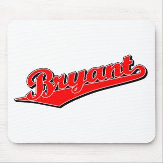 Bryant en rojo tapetes de ratones