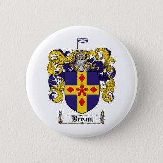 BRYANT FAMILY CREST -  BRYANT COAT OF ARMS BUTTON