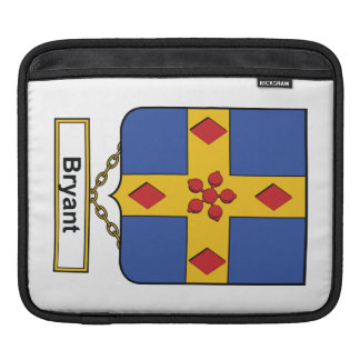 Bryant Family Crest iPad Sleeves