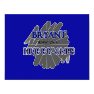 Bryant High School Hurricanes - Irvington, AL Card