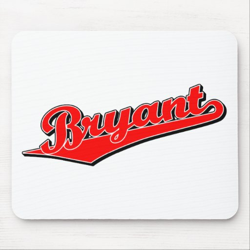 Bryant in Red Mouse Pad