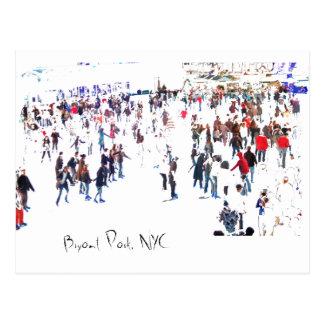 Bryant Park, NYC Postcard