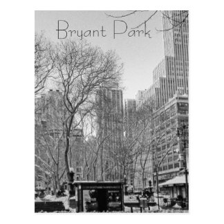 Bryant Park Postcard