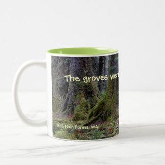 Bryant Quote Two-Tone Coffee Mug