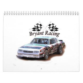bryant racing calendar