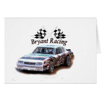 bryant racing card