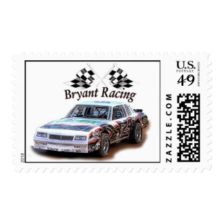 bryant racing postage