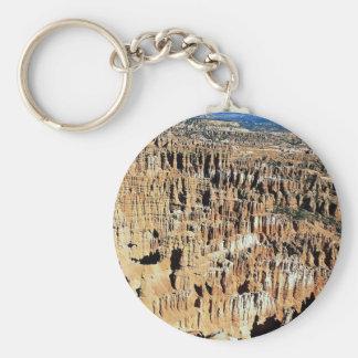 Bryce Amphitheater, Bryce Canyon National Park, Ut Basic Round Button Keychain