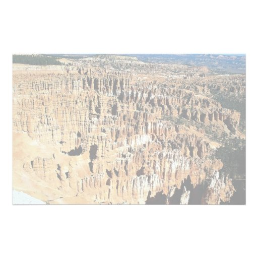 Bryce Amphitheater, Bryce Canyon National Park, Ut Customized Stationery