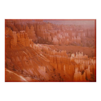 Bryce Amphitheater Water Color Painting Print