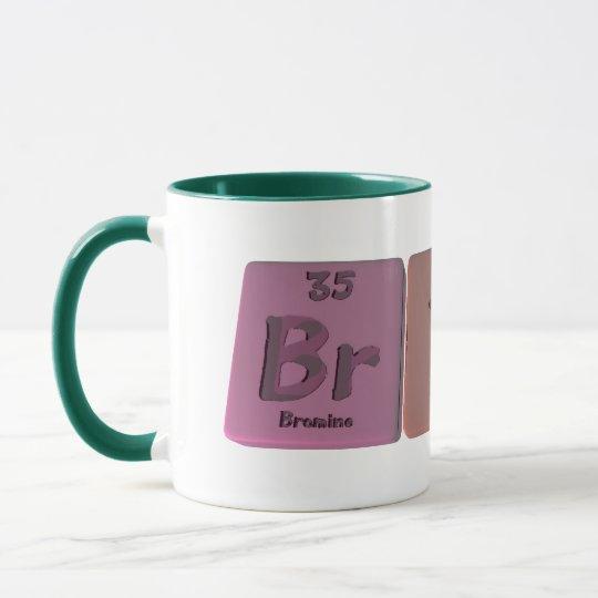 Bryce as Bromine Yttrium Cerium Mug