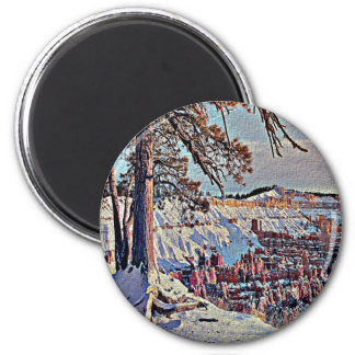 Bryce Canyon 2 Inch Round Magnet