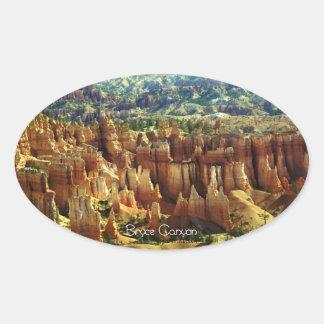 Bryce Canyon 2 Oval Sticker