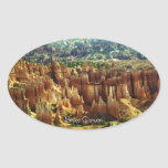 Bryce Canyon 2 Oval Stickers