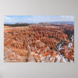 Bryce Canyon-Amphitheatre Poster