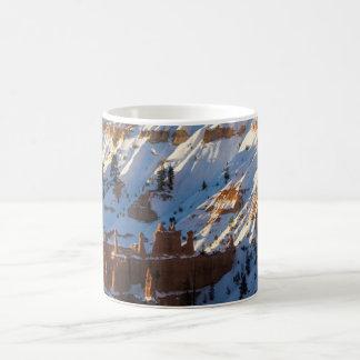 Bryce Canyon Christmas, Sunset Point Coffee Mug
