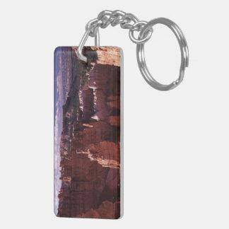 Bryce Canyon Double-Sided Rectangular Acrylic Keychain