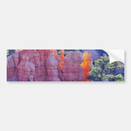 Bryce Canyon Glowing Bumper Sticker