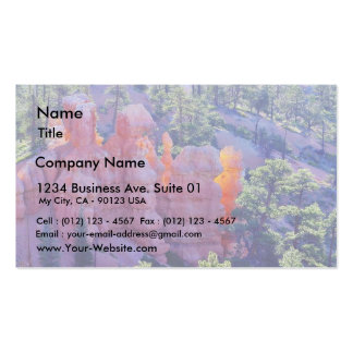 Bryce Canyon Glowing Double-Sided Standard Business Cards (Pack Of 100)