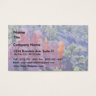 Bryce Canyon Glowing Business Card