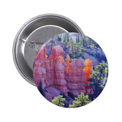 Bryce Canyon Glowing Button