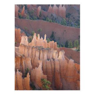 Bryce Canyon Hoodoo View Postcard