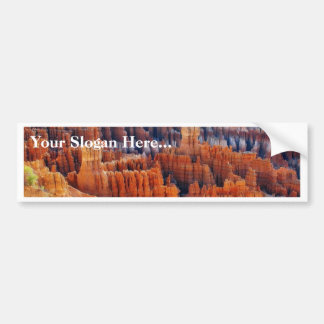 Bryce Canyon Hoodoos Bumper Sticker