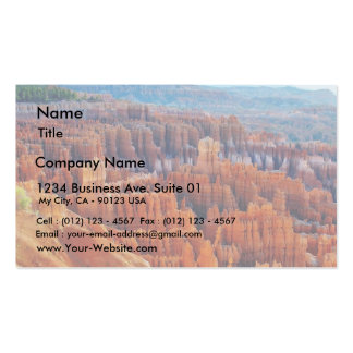 Bryce Canyon Hoodoos Business Card Template